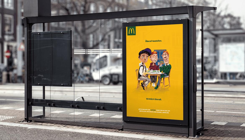 McDonald's – Von überall bestellen